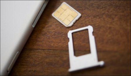 طريقة إخراج بطاقة SIM من الهاتف