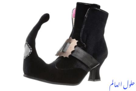 حذاء الكعب المدبب الساحر