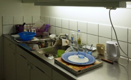 حوض المطبخ