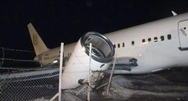 تحطم طائرة ركاب بوينج 757 بغويانا