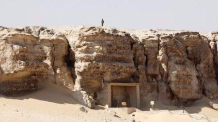 أثري جديد في محافظة المنيا المصرية
