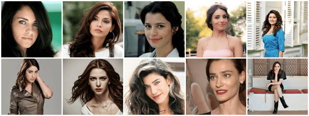 صورة أجمل 10 ممثلات تركيات