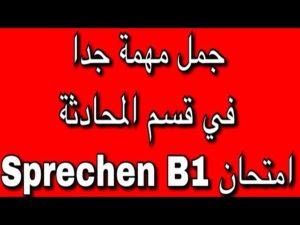 B1 اللغة الالمانية