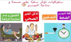 سلوكيات تؤثر سلبا على صحة ومناعة الجسم