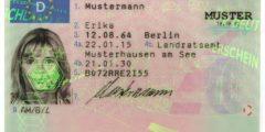 الرخصة الاجنبية وتعديلها في المانيا