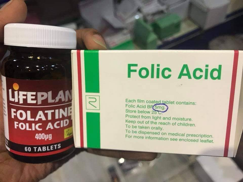 حمض الفوليك Folic Acid واستخدامة أثناء الحمل حلول العالم