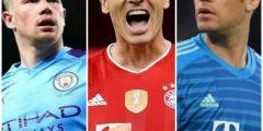 الاعلان رسميا عن افضل لاعب في اوروبا لكره القدم موسم 2019-2020