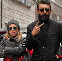 نجيب ميملي وزوجته